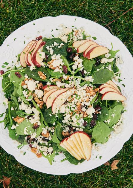 Salad at Mill Creek Cafe