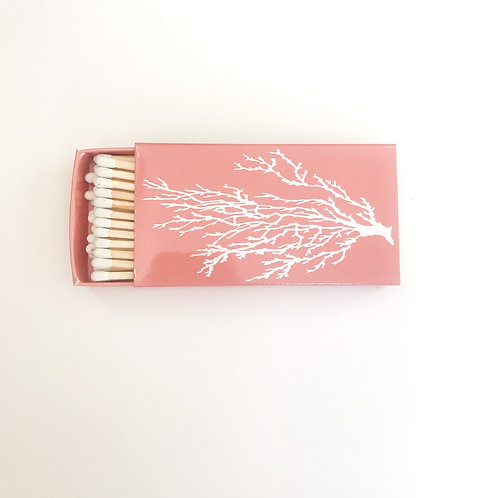 Coral  Matchbook