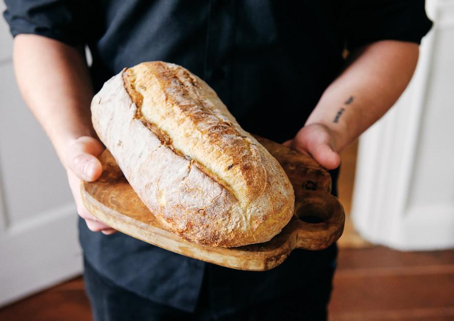 Crusty Rustic Bread