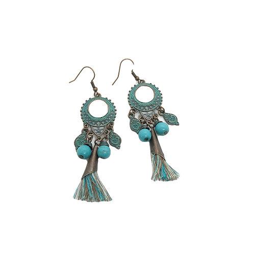 Chamba Turq Earrings