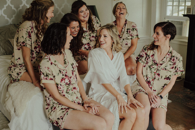 Blooming Bridal Party