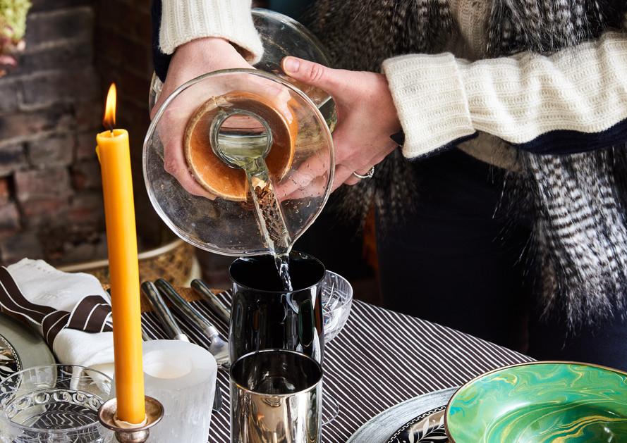 Mercury Fade Out Glassware