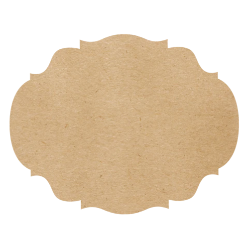 Hester & Cook Kraft French Frame Placemat