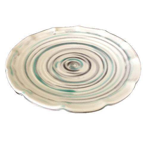 JMV Ceramics Swirl Dinner Plate