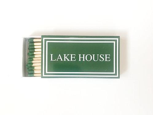 Lake House  Matchbook