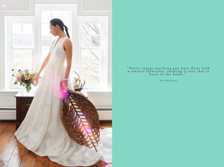 Wedding Gown Audrey Hepburn Style