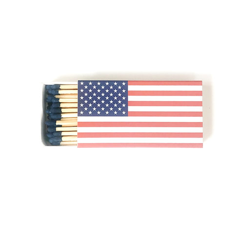 American Flag Matchbook