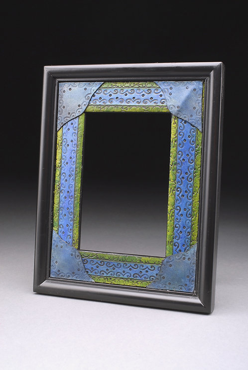 Leather Tooled 5x7 Picture Frame