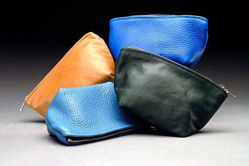 Leather Cosmetic Bags