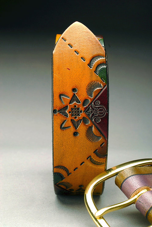 Hand tooled Leather Belts