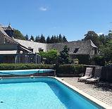 piscine gite hotel golf laguiole