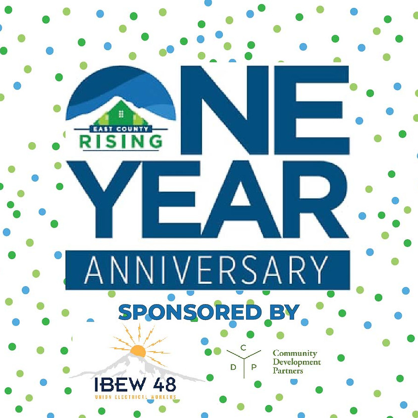 East County Rising Anniversary Party