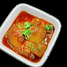 Eggplant Qorma/stew