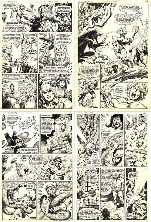 DC Miniseries artwork SET of 4 prints
