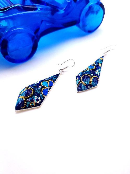 Mosaico Blue Earrings