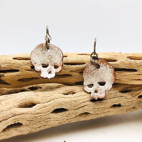 Enameled Skulls