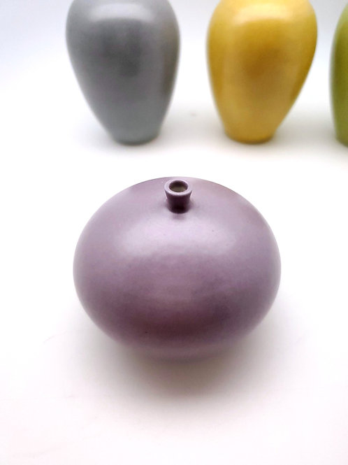 Purple Porcelain Mini Vase