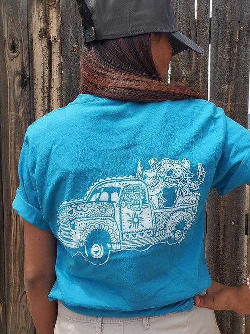 Hood Ride, Turquoise