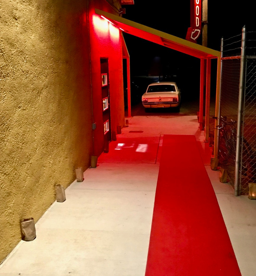 The Hood opening night-red carpet alley-