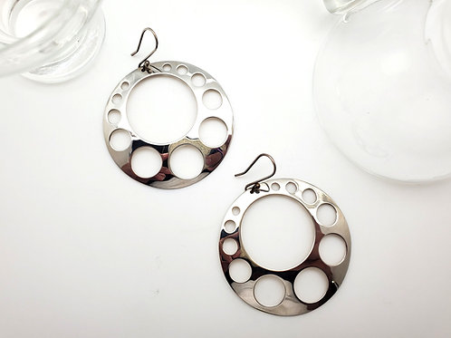 Brittania Circle Earrings