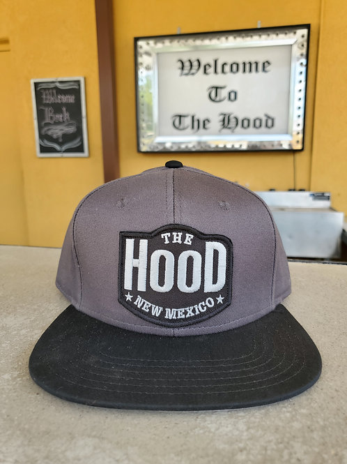 The Hood Flat Brim Cap Variation