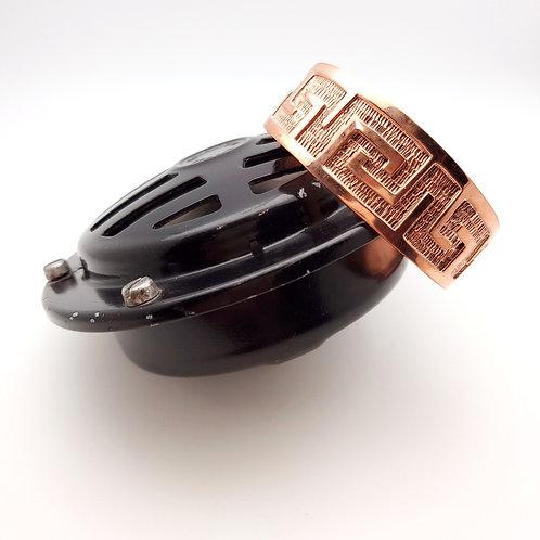 Stamped Copper Cuff Bracelet