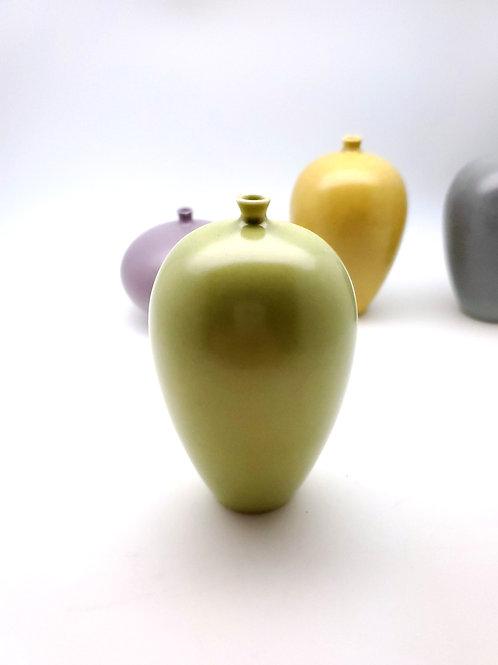 Green Porcelain Mini Vase