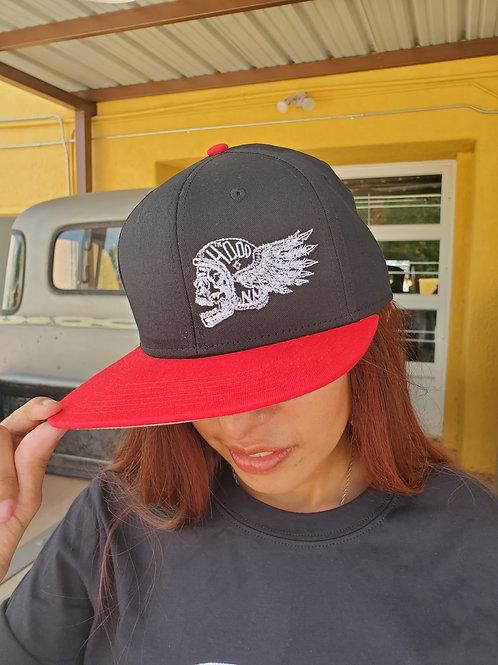 Flying Helmet Flat Brim Cap