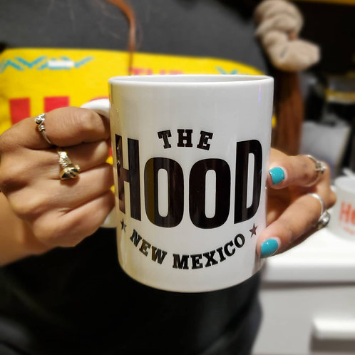 Black The Hood Coffee Mug