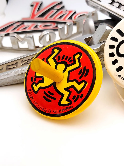 Keith Haring Spinning Top