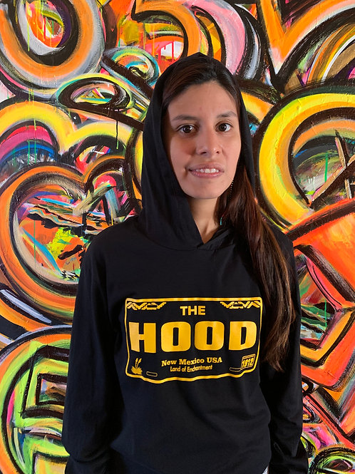 Yellow Licence Plate Hoodie