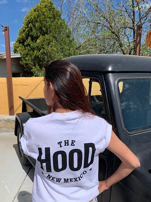 The Hood in White