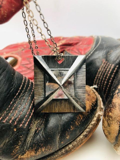 Maria Pilato Pyramid Quartz Necklace