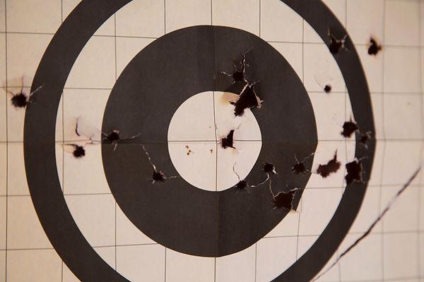 Schießen-Ziel
