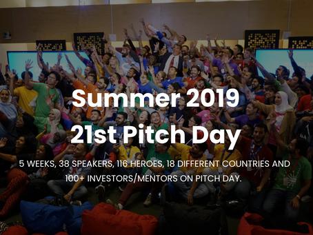 Uvera is the 1st Winner at Summer 2019 21st Superhero Training at Draper University Silicon Valley
