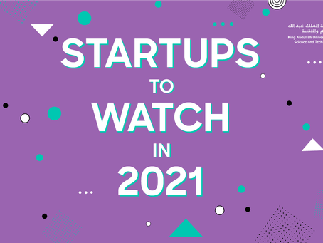 KAUST Startups to Watch in 2021