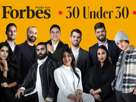 Forbes Middle East Unveils Its 30 Under 30 2021 List