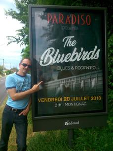 The Bluebirds - Montignac 2018