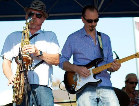 with Jimmy Carpenter (2021 - Blues Music Award Winner)