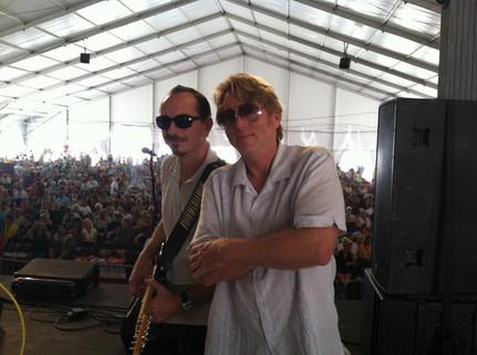 """Hervé """"The Bluebird"""" & Tom Worrell"""