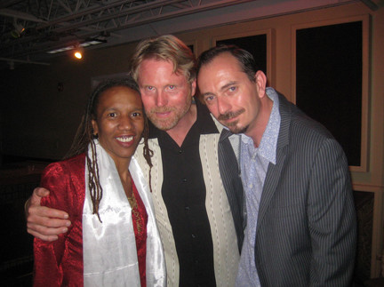 with Charmaine Neville & Tom Worrell