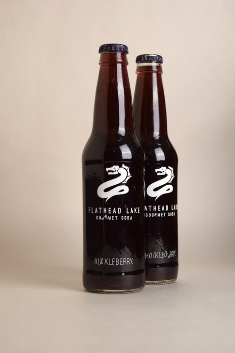 Flathead Lake Gourmet Soda Bottles