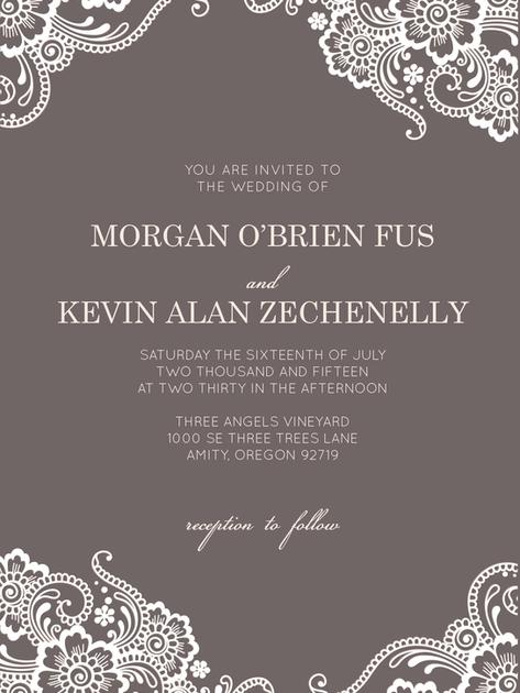 Invitation Suite | Morgan & Kevin