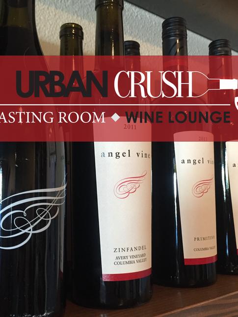 Logo & Store Sign | Urban Crush Winery