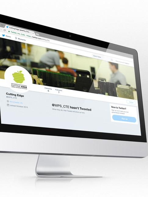 Logo & Twitter   WPS Career & Technology Education