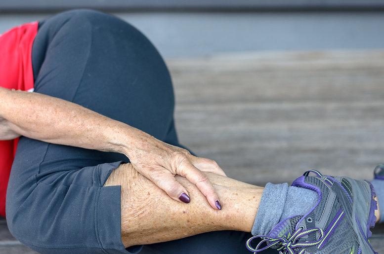 narrowed or blocked arteries causing calf pain