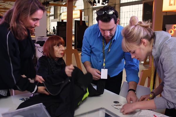 Biénnale du Design 2015, Vitruvian Power wokshop, EDF Lab, Saint Etienne, France
