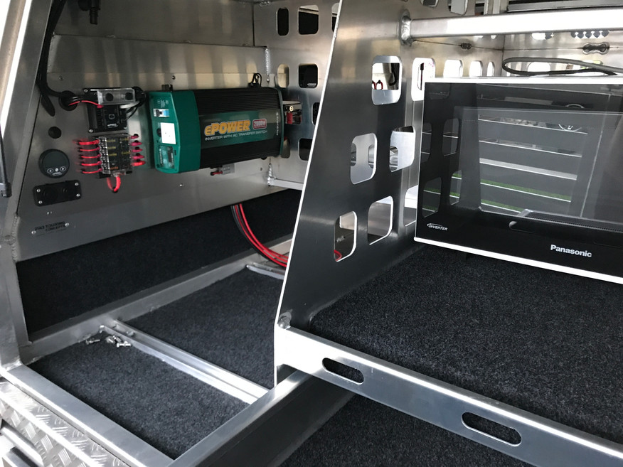 Pro Touring/Enerdrive Electrical Battery Management Package
