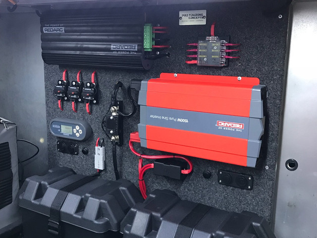 Pro Touring Concepts - Battery Management Package