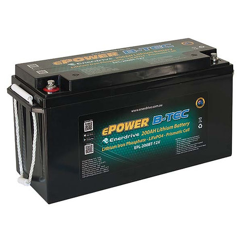 Enerdrive ePower B-TEC 200Ah Lithium-Ion